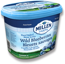 Millen Farms' Hand Raked Blueberries 1 kg Container